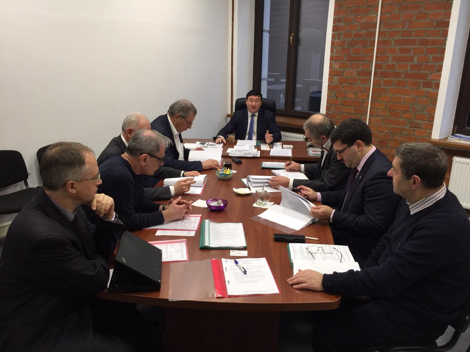 11 декабря 2015 года состоялось совещание по вопросам технического регулирования и развития инжиниринга