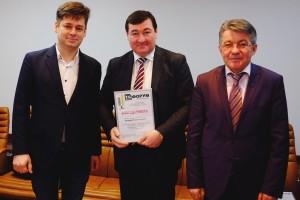 Награждение на заседании Оргкомитета ТБФ